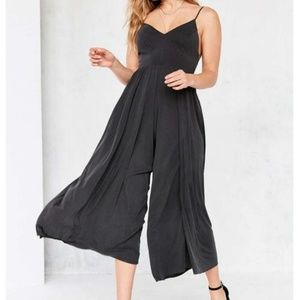 Silence + Noise Molly Cupro CulotteJumpsuit